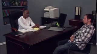 Principal and Student Fuck in Office