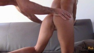 Insatiable Hot Chick Rides Huge Fat Cock – Anal Creampie!