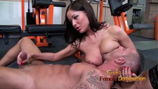 Angelica Heart Smothers Her Slave With Her Tits